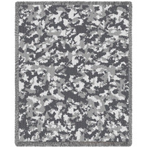 Camo Desert Blanket Tapestry Throw