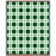 Gooseberry Plaid Blanket Tapestry Throw