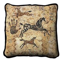 Tlalocs Tribe Pillow Pillow