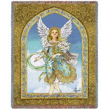 Mint Angel Blanket Tapestry Throw