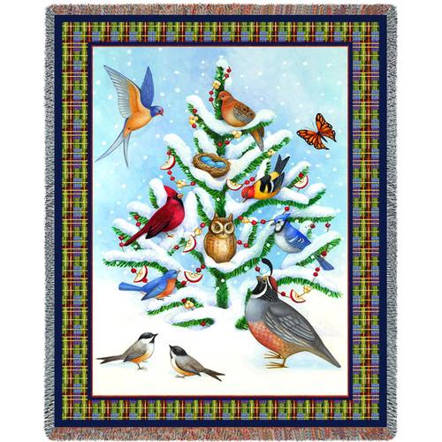 Bird Haven by Stephanie Stouffer Tapestry Throw