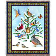 Bird Haven Blanket Tapestry Throw