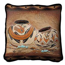 Zuni Pottery Pillow Pillow