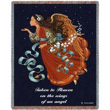 Taken to Heaven Blanket Tapestry Throw