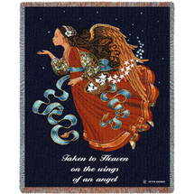 Taken to Heaven Blanket Tapestry Throw