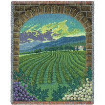 Vineyard Blanket Tapestry Throw