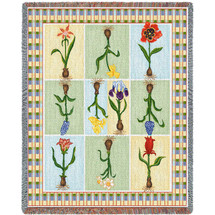 Floral Delight Blanket Tapestry Throw