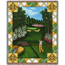 Fairway View Tapestry Throw