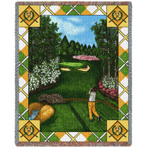 Sports - Fairway View - Tapestry Throw