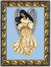 Guardian Angel and Baby 2 Blanket Tapestry Throw