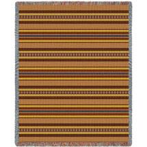 Saddleblanket Clay Blanket Tapestry Throw
