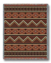 Los Ranchos Chenille Blanket Tapestry Throw