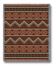 Los Ranchos Chenille Blanket Tapestry Throw