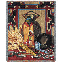 Whispers Of The Past Blanket Tapestry Throw