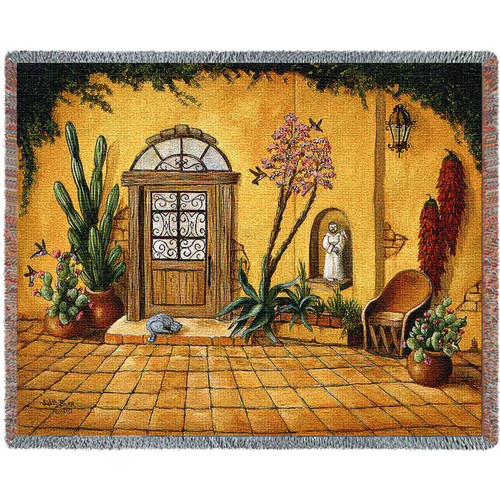 Casa Bonita Blanket Tapestry Throw