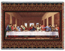The Last Supper - Tapestry Throw