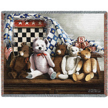One Nation Under God Tapestry Throw