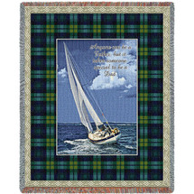 Anyone Can Be a Father But It Takes Someone Special To Be A Dad - Tapestry Throw