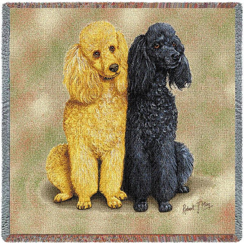 Poodles by Robert May Lap Square