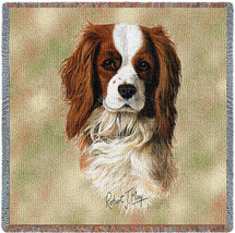 Cavalier King Charles Spaniel by Robert May Lap Square