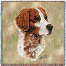 Brittany Spaniel by Robert May Lap Square