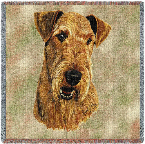 Airedale Terrier - Lap Square