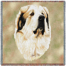 Great Pyrenees by Robert May Lap Square