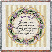 Friendship Poem - Lap Square