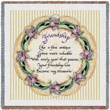 Friendship Poem Lap Square