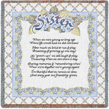Sisters Poem Lap Square