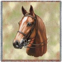 American Saddlebred Horse by Robert May Lap Square