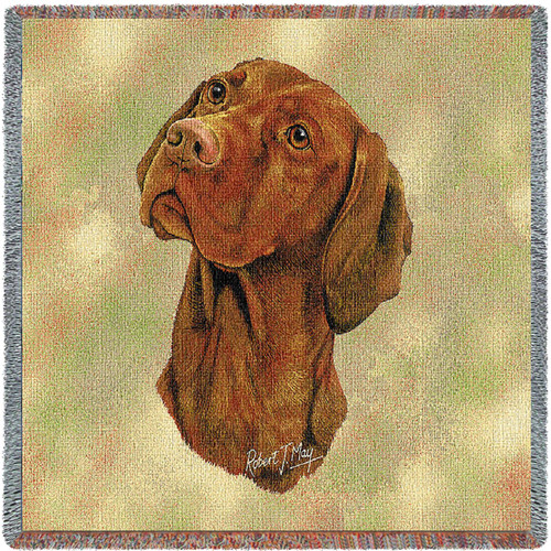 Vizsla by Robert May Lap Square