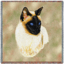 Siamese Cat - Lap Square
