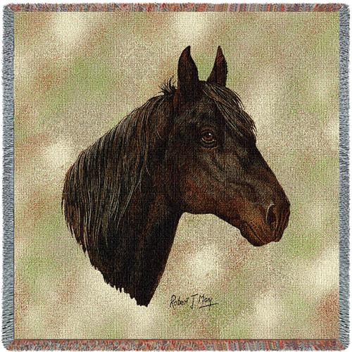 Morgan Horse - Lap Square