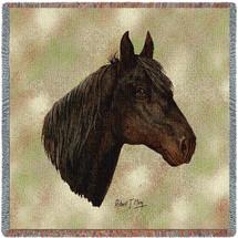 Morgan Horse by Robert May Lap Square