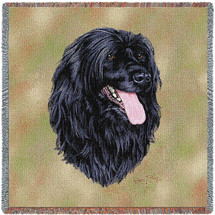 Portuguese Water Dog by Robert May Lap Square