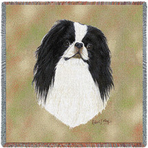 Japanese Chin by Robert May Lap Square