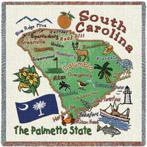 State of South Carolina Lap Square