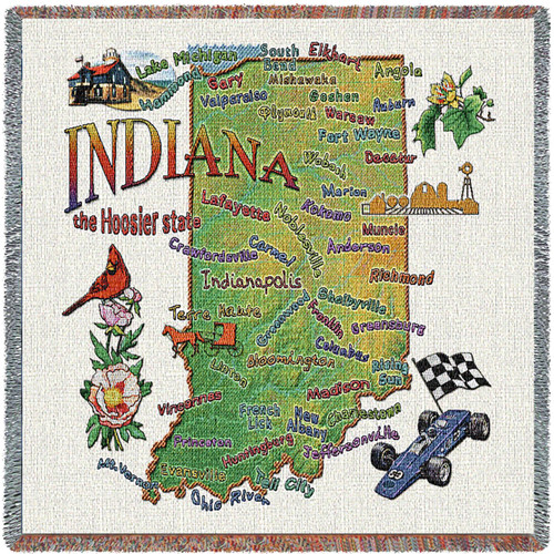 State of Indiana Lap Square