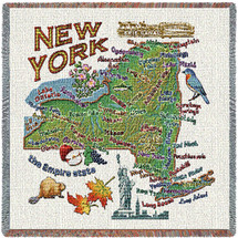 State of New York Lap Square