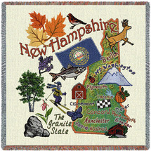 State of New Hampshire Lap Square