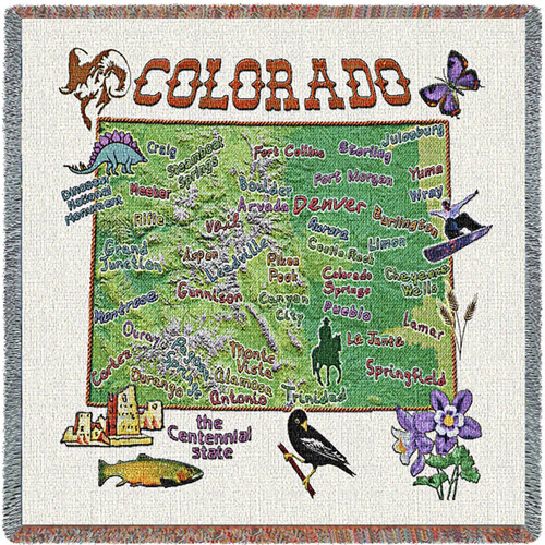 State of Colorado Lap Square