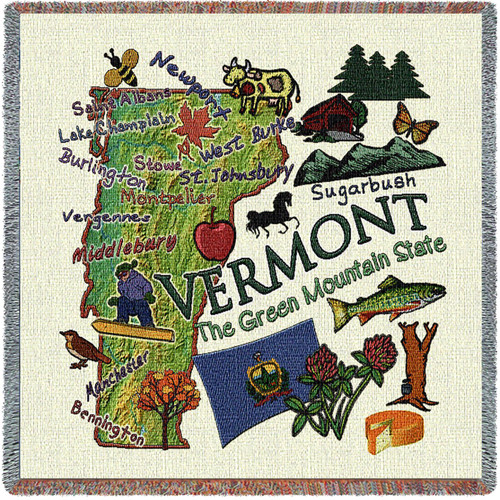 State of Vermont Lap Square