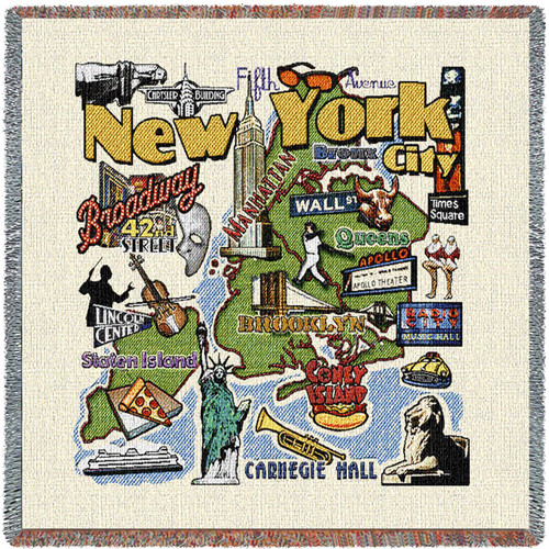State of New York - New York City - Lap Square