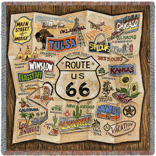 Historic US.Route 66  - Lap Square
