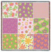 Quilt - Nine Patch Flower - Lap Square