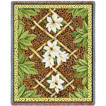 Bamboo and Skin - Tapestry Throw