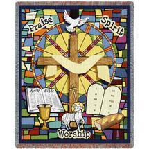 Sunday School Tapestry Throw