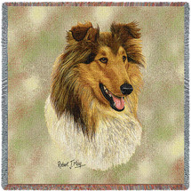 Rough Collie  - Lap Square