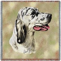 English Setter - Lap Square